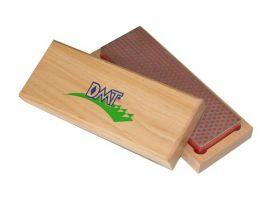 """DMT 6"""" точильный камень абразивный алмазный Whetstone™, тонкий, в деревянной коробке"""