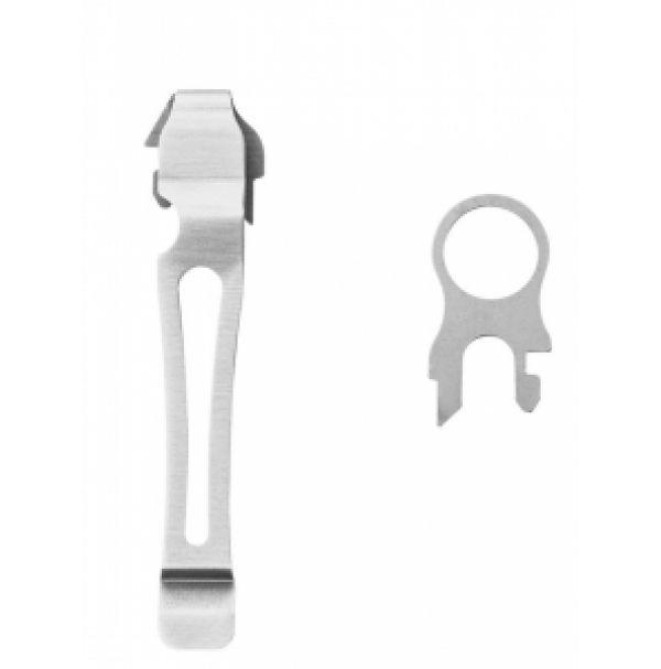 Набор из съемной клипсы и кольца для темляка Leatherman Removable Pocket Clip and Ring