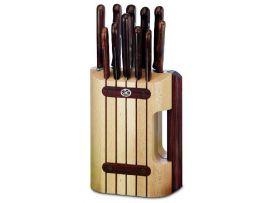 Набор кухонный Victorinox 11 шт с дерев. ручкой с подставкой (8 ножей, точило, вилка, овощечистка)