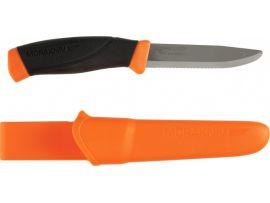 Нож Morakniv Companion F Rescue, stainless steel, серрейтор