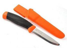 Нож Morakniv Companion F, stainless steel, серрейтор