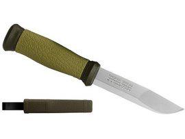 Нож Morakniv Outdoor 2000, stainless steel, зелёный