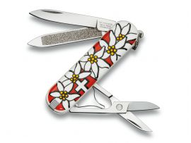 Victorinox CLASSIC  58мм/1сл/7предм/Edelweiss /ножн