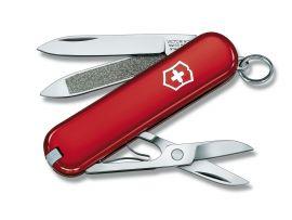 Victorinox CLASSIC  58мм/1сл/7предм/крас/чехол /ножн
