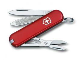 Victorinox CLASSIC SD  58мм/1сл/7предм/крас/чехол /ножн