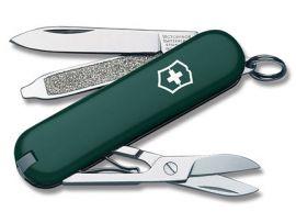 Victorinox CLASSIC SD  58мм/1сл/7предм/зел/чехол /ножн