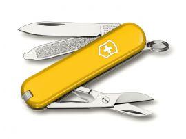 Victorinox CLASSIC SD  58мм/1сл/7предм/желт /ножн