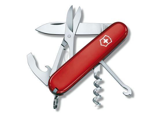 Victorinox COMPACT 91мм/15предм/крас /штоп/ножн/ручка/миниотвертка