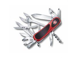 Victorinox EVOGRIP S557  85мм/5сл/21предм/крас-черн /lock/штоп/ножн/плоск/гаечн