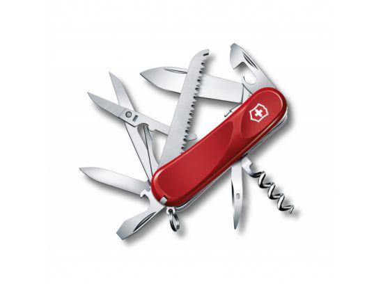 Victorinox EVOLUTION S17 85мм/4сл/15предм/крас /lock/штоп/ножн/пила