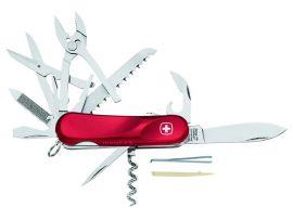 Victorinox EVOLUTION S52  85мм/5сл/20предм/крас /lock/штоп/ножн/пила/плоск