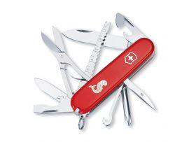 Victorinox FISHERMAN  91мм/17предм/крас.лого /отверт/ножн/рыба/крюк