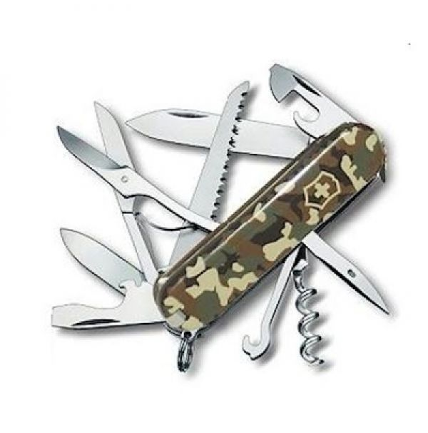 Victorinox HUNTSMAN  91мм/15предм/камуфляж /штоп/ножн/пила/крюк
