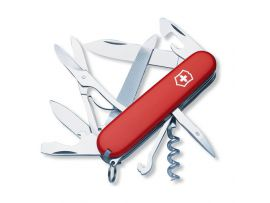 Victorinox MOUNTAINEER  91мм/18предм/крас /штоп/ножн/напил/крюк
