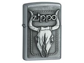Зажигалка  бензиновая Zippo BULL SKULL EMBLEM