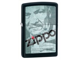 Зажигалка бензиновая Zippo 218 DEPOT ZIPPO LOGO