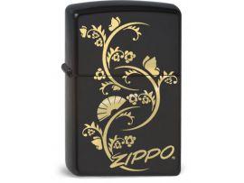 Зажигалка бензиновая Zippo FLORAL FAN