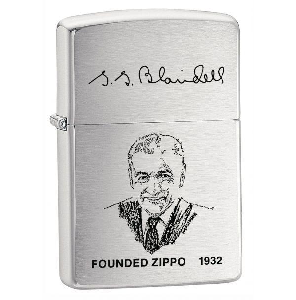 Зажигалка бензиновая Zippo FOUNDER'S LIGHTER