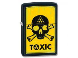 Зажигалка бензиновая Zippo TOXIC