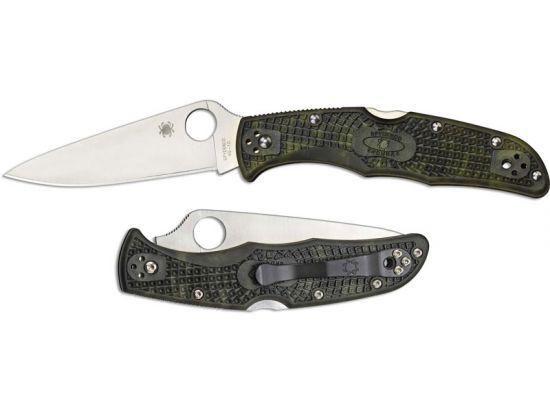 Нож Spyderco Endura 4 Flat Ground, камуфляж