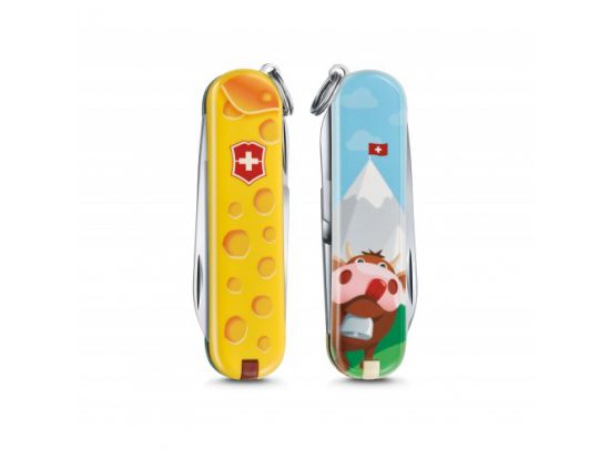 Victorinox Classic LE Alps Cheese 58 мм/7функ/цветной