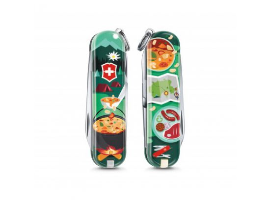 Victorinox Classic LE Swiss Mountain Dinner 58 мм/7функ/цветной