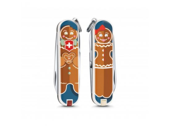 Victorinox Classic LE Gingerbread Love 58 мм/7функ/цветной