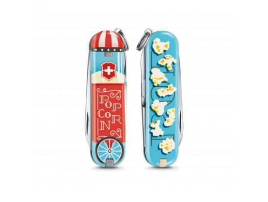 Victorinox Classic LE Let It Pop! 58 мм/7функ/цветной