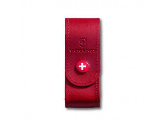 Чехол на пояс  кож.крас на кнопке (84-91мм) 5-8 слоев