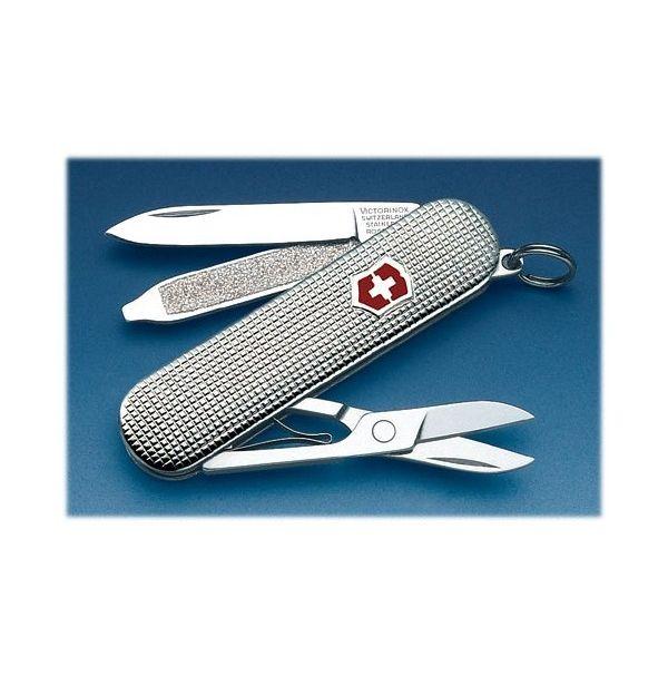Victorinox STERLING SILVER  58мм/1сл/5предм/Barelycorn /ножн