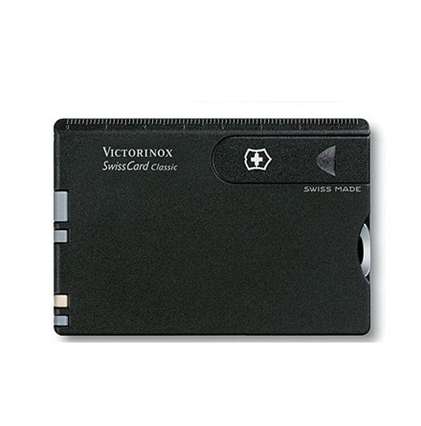Victorinox SWISSCARD  82х54х4мм/10предм/черн /ножн/ручка