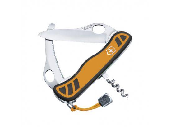 VictorinoxHUNTER XS 111мм/5предм/оранж-черн.нейлон /одноруч/lock/штоп/одноруч.стропорез