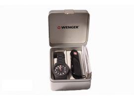 "Набор часы  Field Classic Color и нож ""Wenger"""